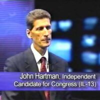 A Conversation with John Hartman – Independent Candidate U.S. House (IL-13)