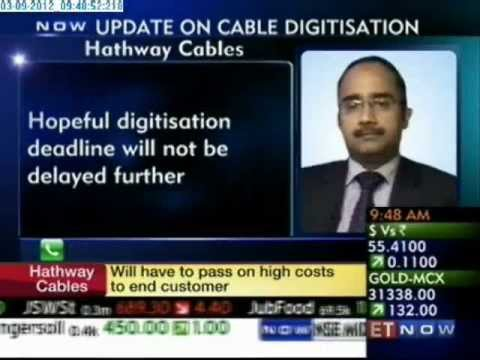 Hathway CFO Speaks on Cable Digitisation