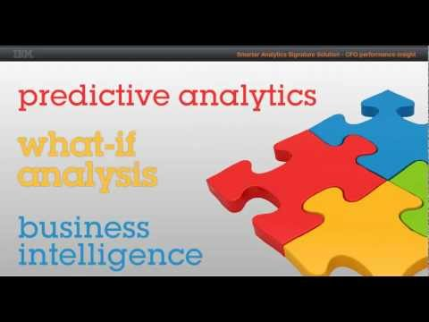 IBM Smarter Analytics Signature Solution – CFO Performance Insight
