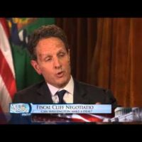 Timothy Geithner on Proposed Spending Cuts