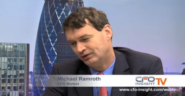 Michael Ramroth – Biotest CFO