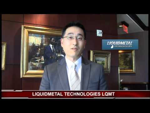 CFO of LIQUIDMETAL TECHNOLOGIES Tony Chung at SCIF In Las Vegas