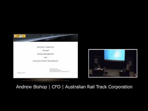 CFO Summit 2013,  Andrew Bishop – Australian Rail Track Corporation