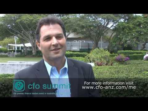 CFO Summit 2013, Harald Hamster – Turners and Growers Limited
