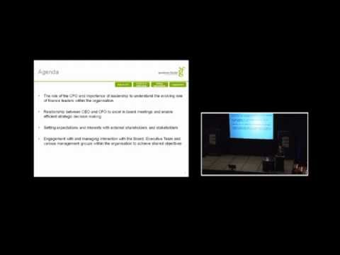 CFO Summit 2013, Shane Gannon – Goodman Fielder