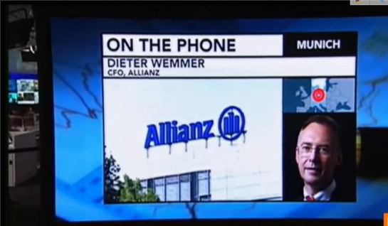Allianz CFO Says Size Helps in Shrinking Economies