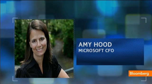 Microsoft Appoints Amy Hood CFO