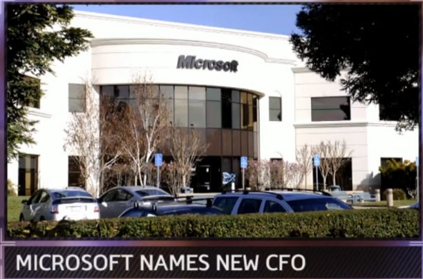 Microsoft Names New CFO