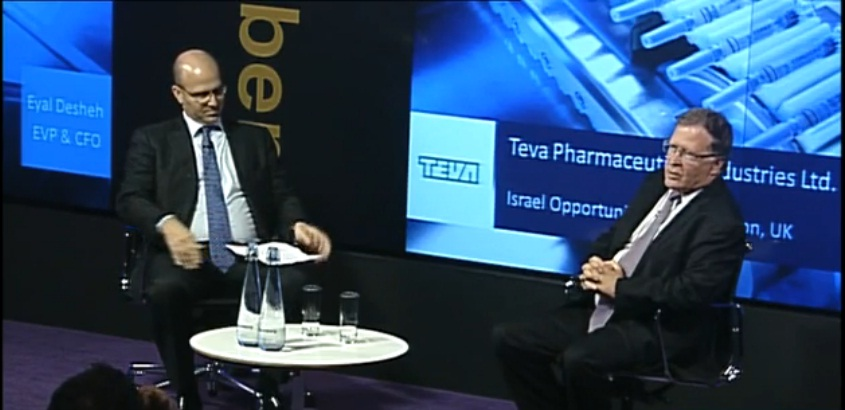 Teva CFO Discusses Growth Outlook, Acquisitions