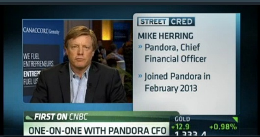 Pandora CFO on music streaming wars