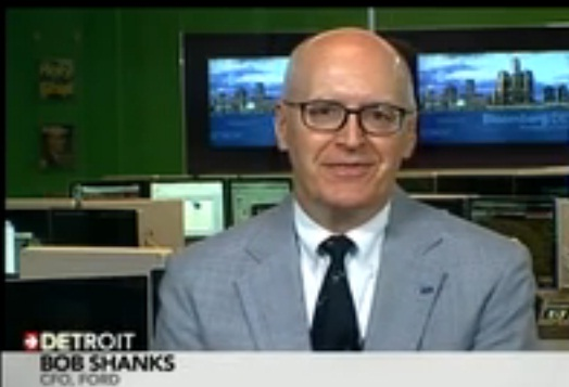 Ford CFO Bob Shanks on Credit Rating, Outlook
