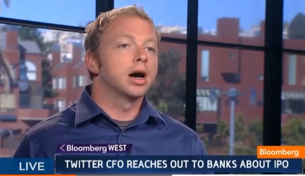 Twitter CFO Reaches Out to Banks About IPO