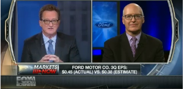 Ford CFO talks earnings, economy