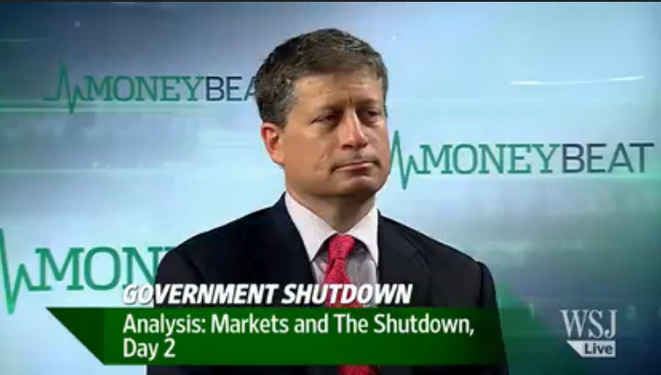 Stock Market Finally Reacting to Shutdown