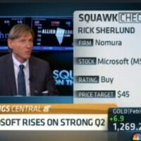 Microsoft shines on strong Q2