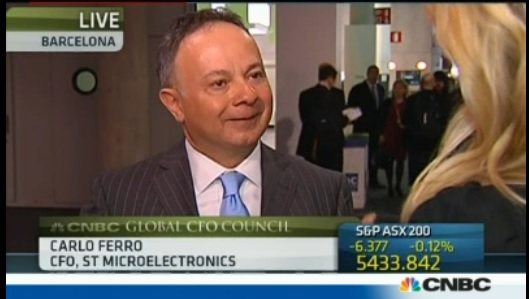 Europe needs to boost internal demand: STMicroelectronics CFO