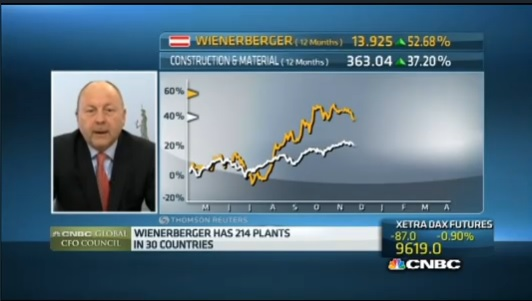 Wienerberger CFO eyeing 'bolt-on' acquisitions