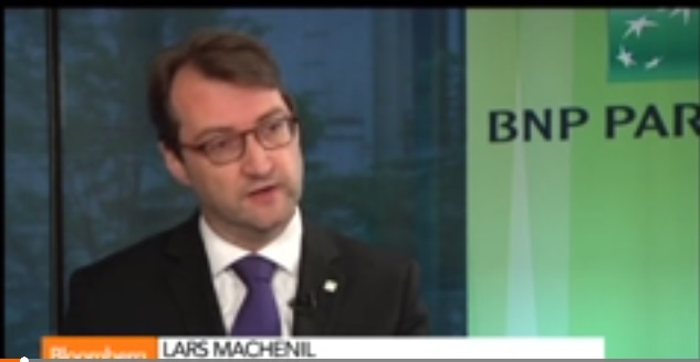 BNP Paribas CFO on 1st-Quarter Results, Operations