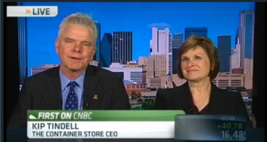 Container Store CEO: Consumer behavior better