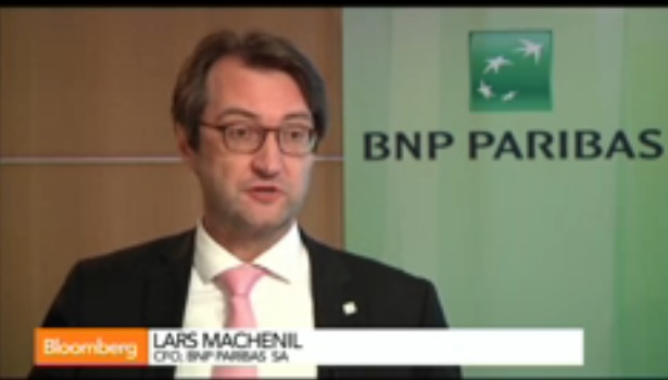 BNP CFO Machenil on Results, Compliance, Russia