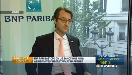 BNP Paribas has 'confidence' after US fines
