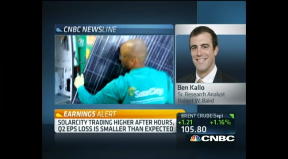 Behind SolarCity's performance