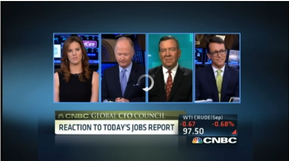 CFO's react to jobs report