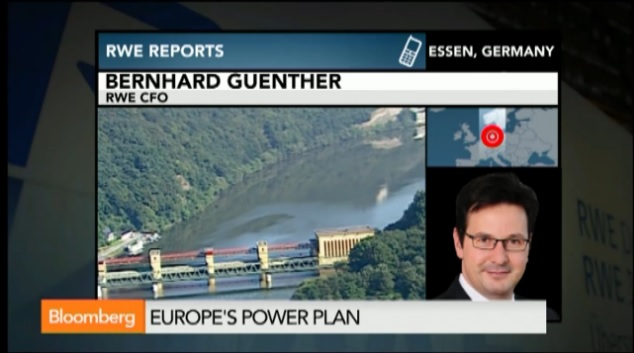 RWE CFO Says EU Might Need to Diversify Gas Supply