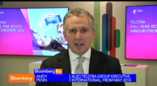 Telstra CFO Penn on Financial Results, Outlook