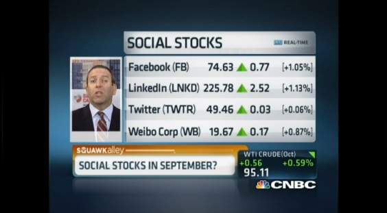 How to play social stocks