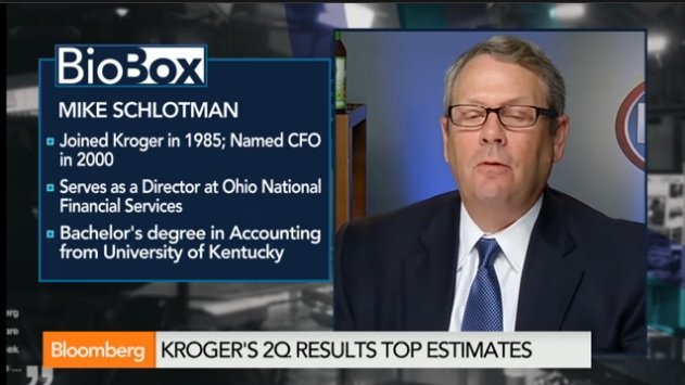 Kroger CFO Says Jobs Added Will Be Permanent Positions