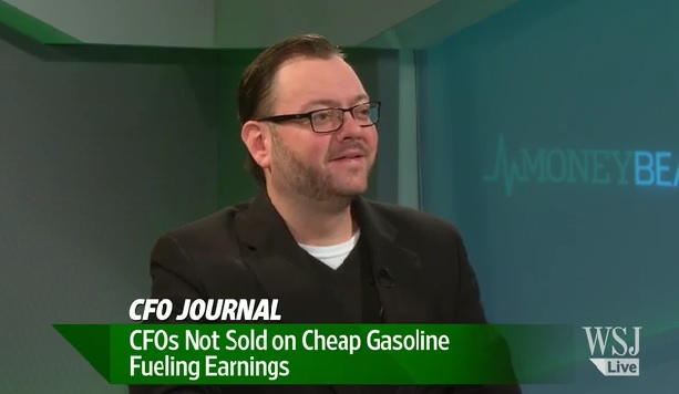 CFOs Not Sold on Cheap Gasoline Fueling Earnings