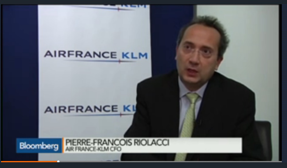 Air France CFO Says Cheaper Fuel Benefits May Disappear