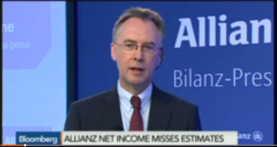 Allianz CFO Wemmer Sees Less Outflows at Pimco Unit