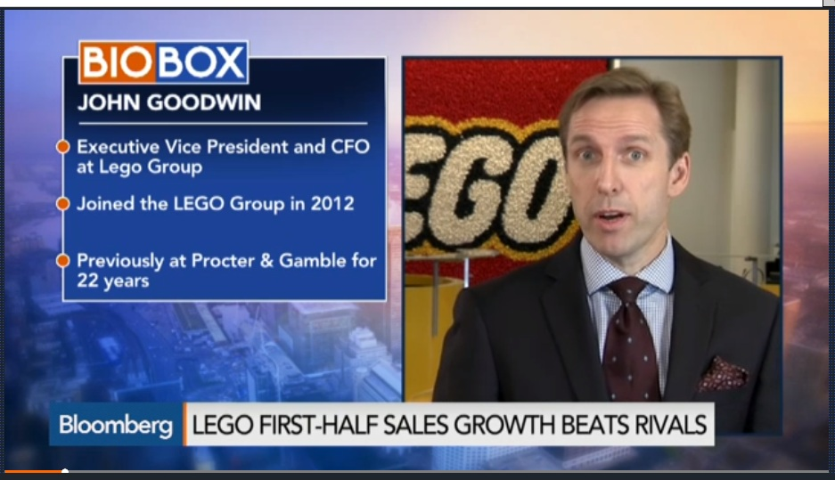 Lego Sees Massive Sales in China