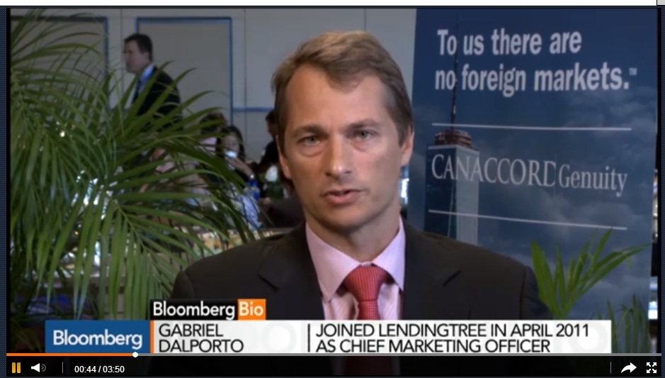 LendingTree Acts as Marketplace for Loans: CFO Dalporto