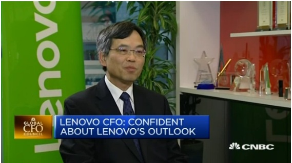 Lenovo CFO on the challenges ahead