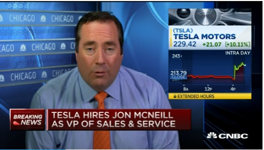 Tesla hires Google's Jason Wheeler to be next CFO