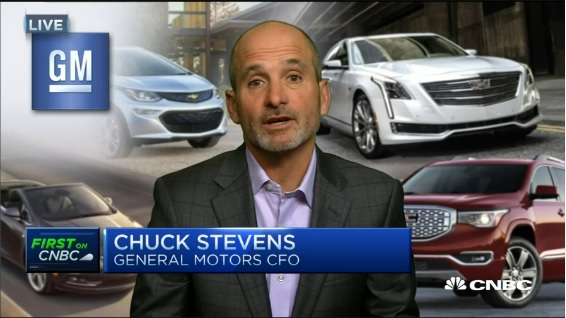 GM CFO:' Broad-based improvement' fuels beat