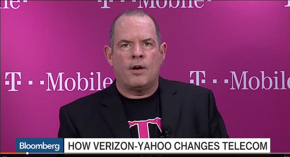 T-Mobile's CFO Carter: We Are Totally Focused on Wireless