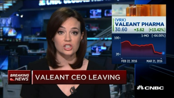 Valeant's Schiller asked to leave board