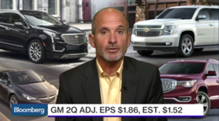 GM CFO Stevens: Record 2Q Driven by North America