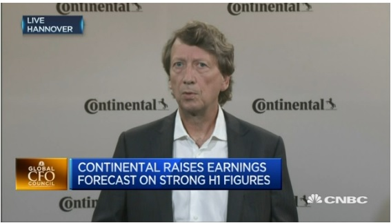 Second quarter fulfilled expectations: Continental CFO