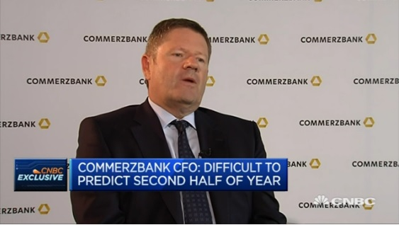 Low interest rates not out of the blue: Commerzbank CFO