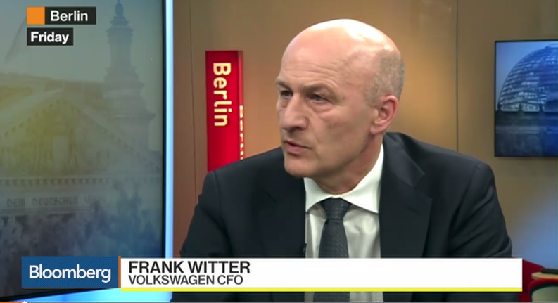 VW CFO Explains How to Take a $20 Billion Hit and Fund E-Cars