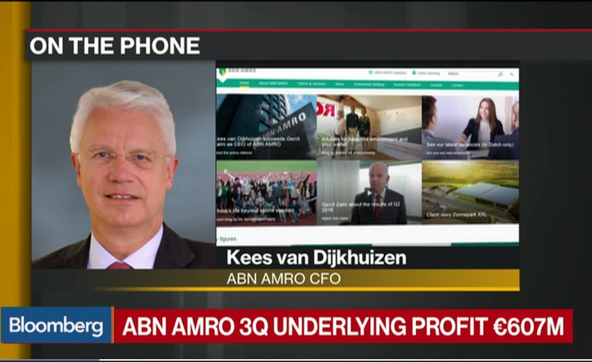 ABN Amro's CFO Says Cost Control Is Very Important