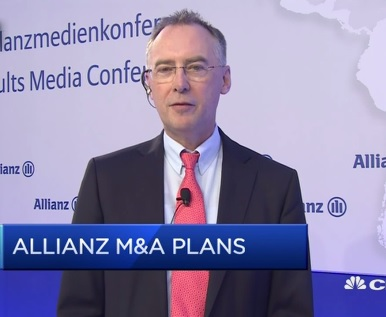 Generali is a very well respected company: Allianz CFO