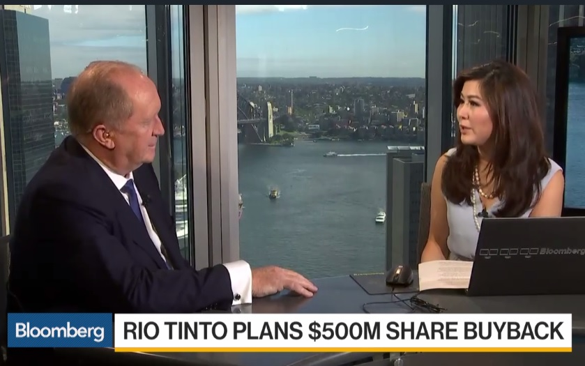 Rio Tinto CFO Says We Have Planned for Downside Scenarios
