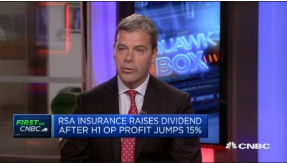 Cost reduction program remains on track: RSA Insurance CFO