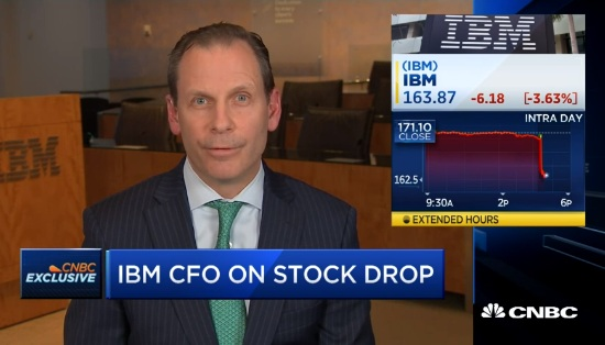 IBM CFO: Confident IBM portfolio will grow